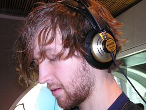 Brett Sanderson of the band Headlights