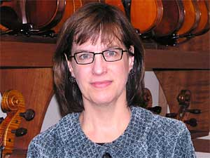 Clair Givens is the owner of Givens Violins in Minneapolis.  Her love of playing the cello prompted her desire to own an instrument shop.