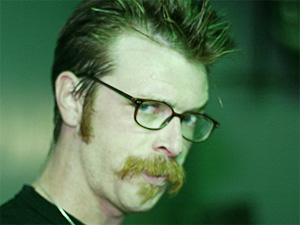 Jesse Hughes of the band Eagles of Death Metal