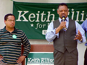 farrakhan kieth ellison jesse jackson supporting muslim congress keith ellison