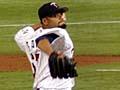Twins pitcher Johan Santana