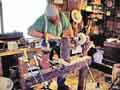Roger, the woodturner