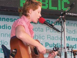 Haley Bonar at the Minnesota State Fair