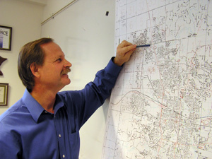 Tony Knauer is Rochester's Transit and Parking Administrator. The city has plans to expand transit by 30 percent in the next five years