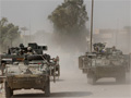 Troops head into Baghdad
