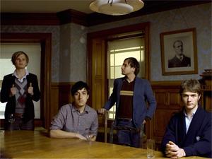 Grizzly Bear [left to right]: Chris Taylor, Ed Droste, Daniel Rossen, Christopher Bear
