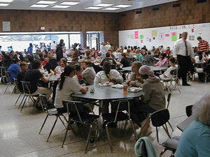 Cafeteria at School