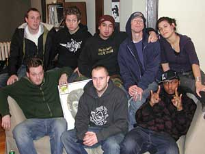 The members of Doomtree.