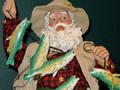 Even Santa fishes!