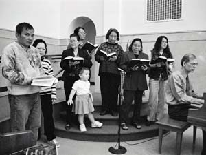 Khmer Choir at Christ Lutheran Church on Capitol Hill, St. Paul.