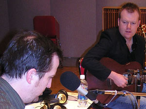 Peter Mulvey and Clive Barnes
