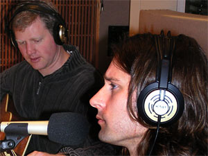 Chris Cunningham and John Hermanson of the band Storyhill