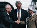 Signing the Oslo accords
