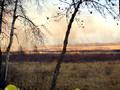 Brush fire near Leech Lake