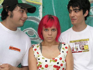 DJ/MC Rodrigo Gorky, MC Marina Ribatski, MC Pedro D'eyrot of Bonde Do Role