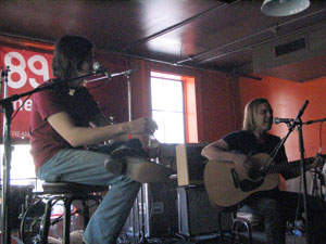 Bobby Emmitt and Eddie Baranek perform live at SXSW