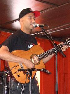 Tom Morello performs live at SXSW