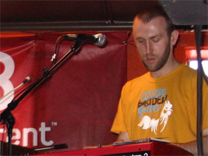 RJD2 performs live at SXSW