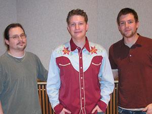Paul Liebenow, Tom Feldmann, and Jed Staack of Tom Feldmann and the Get-Rites
