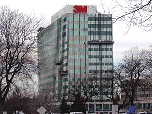 3M's corporate headquarters in Maplewood, Minnesota.