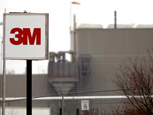 The 3M production facility in Cottage Grove, Minnesota. 3M halted the manufacture of PFOS and PFOA here in 2002.