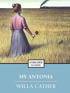 an analysis of symbolism in the novel my antonia by willa cather Symbolism - my antonia  willa cather my antonia in the book, my antonia, jim burden finds himself an orphan leaving his beloved home to a new, stranger place .