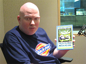 Brother Ali with one of his favorite books, Zora Neale Hurston's