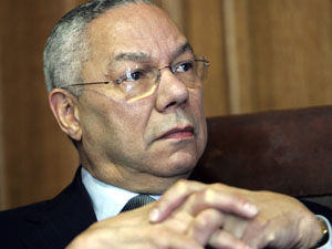 Former U.S. Secretary of State Gen. Colin Powell.
