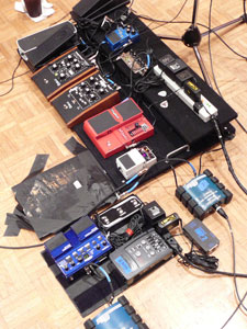 St. Vincent's floor-pedal set-up