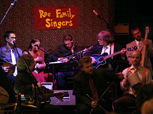 The Roe Family Singers take the stage at the 331 Bar in northeast Minneapolis.