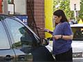 Gas sales down