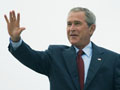 President Bush boards Air Force One