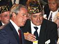 Bush with American Legion