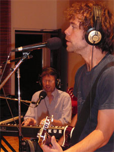 Padme Newsome and Aaron Dessner of The National