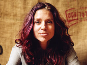 Artist and founder of Righteous Babe Records Ani DiFranco