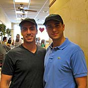 Jonathan Sedaghat, 26, and Sammy Aflalo, 25, are the owners of Los Angeles' new glatt kosher Subway.