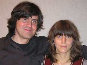 Matthew and Eleanor Friedberger of The Fiery Furnaces