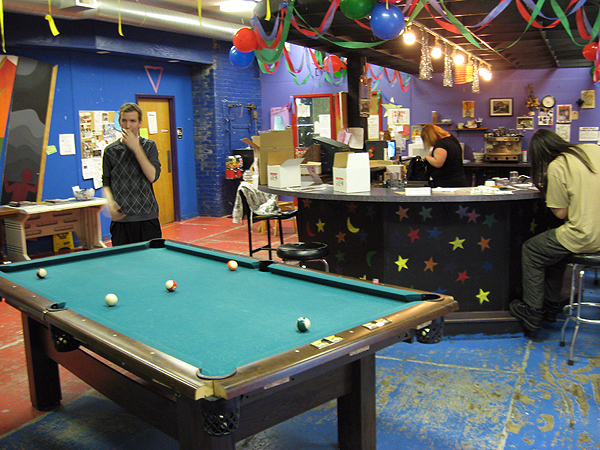 "District 202 is a hangout space for lesbian, gay, transgender, ""queer or questioning"" teens. It's got a pool table, a computer lab and a dance floor."