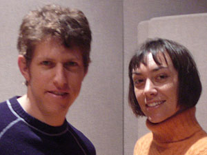 Greg Kurstin and Inara George of The Bird and the Bee
