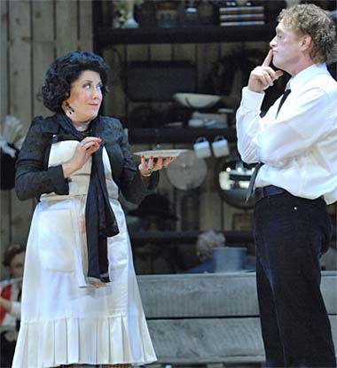 "the Broadway touring production of ""Sweeney Todd,"" playing through Feb."
