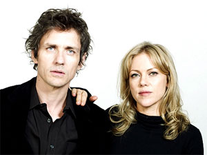 Dean Wareham and Britta Phillips