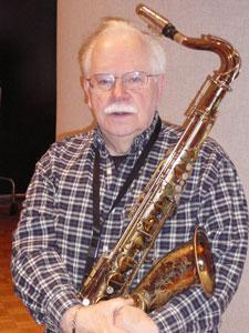 Saxophonist Dave Karr