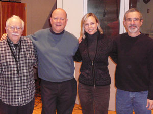 L-R: Dave Karr, Gordy Johnson, Connie Evingson, Phil Aaron