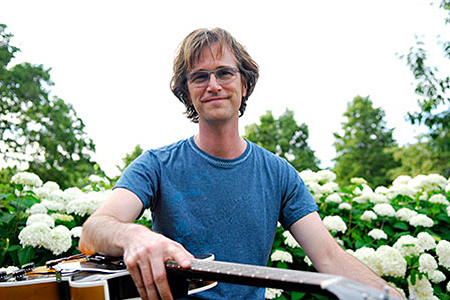 "Grammy winning songwriter Dan Wilson. Wilson produced Mike Doughty's previous album ""haughty Melodic"" and his new record ""Golden Delicious"" in his home studio in Minneapolis."