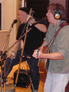 Washtub bassist Brad Ptacek and guitarist Steve Kaul