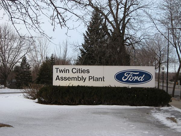 Ford's assembly plant in St. Paul, which has been slated for closure.
