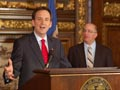 Gov. Pawlenty and Finance Commission Hanson