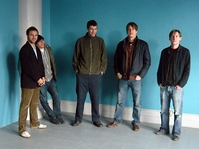 Minneapolis avant rockers Artifact Shore. The band wants to use its first trip to