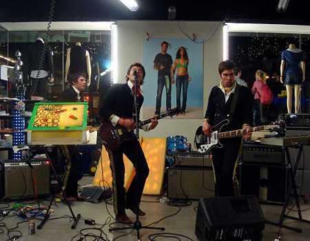 Solid Gold performing at SXSW last year. This is the third year in a row the band has been invited.