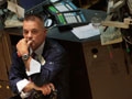 A trader on the New York Stock Exchange floor
